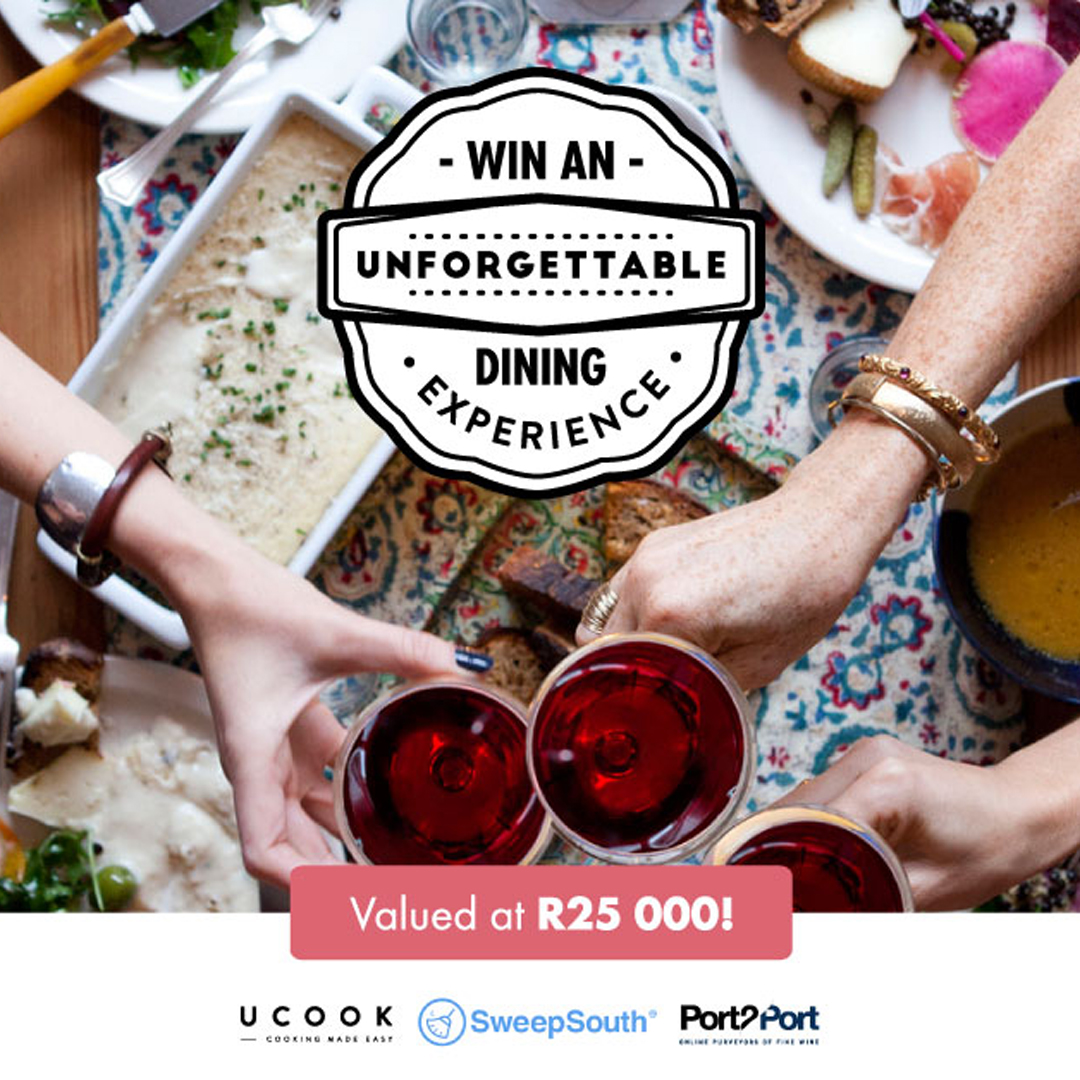 Win an unforgettable dinner party for 20 in the comfort of your home